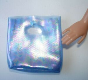 Barbie My Scene Doll's Blue Translucent Colour Handbag Bag Vintage 2000s