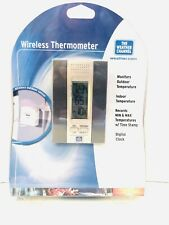 The Weather Channel Wireless Thermometer WS 7013TWC BP Wireless 433 MHz