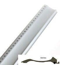 "60cm Steel Mount Cutting Ruler Guide 24"" Straight Edge Picture Frame Jakar/Dafa"