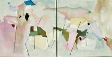 Acrylmalerei,zweiteilig,abstrakt,contemporary,Acrylgemälde,Wanddekoration,minima