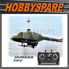 NEW HUBSAN LYNX FPV LIVE VIEW MONITOR CAMERA 4CH COAXIAL RC HELICOPTER 2.4G RTF