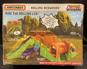 Matchbox Power Scouts Adventure System - 2008 Rolling Redwoods Playset-Sealed