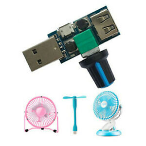 Controller Regulator Variable Switch Module Mini/Micro USB Fan 5W Stepless Speed