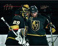 ** Fleury & Karlsson **  Vegas Golden Knights Autographed 8x10 Photo (RP)
