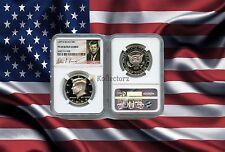 New listing 1999 S Silver Kennedy Half Dollar 50c Ngc Pf69 Signature Label
