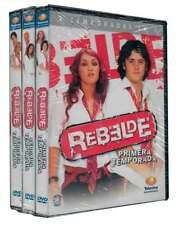 REBELDE 3-Pack Seasons 1, 2 & 3 (All Edited From Original Telecast) DVD New