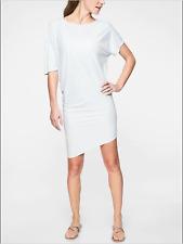 NEW Athleta White Sunlover Hilo UPF50 Asymmetrical Dress Size XS NWT