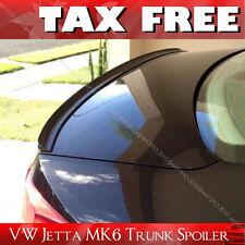 PAINTED Volkswagen VW Jetta MK6/B6 Rear Trunk Lip Spoiler L041 Black §