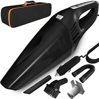 Car Vacuum, DC 12V 120W High Power Portable Handheld Car Vacuum Cleaner with LED