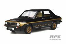Renault R12 Alpine 1978 schwarz black 1:18 OttOmobile OT 336 NEU