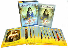 Doreen Virtue Mother Mary Queen of Angels Tarot Cards Oracle Deck Paperback NEW