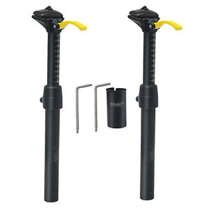 Bike Adjustable Seatpost Road Bicycle High Strength 14.7 inch Seat Post