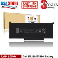 F3YGT Battery For Dell Latitude 12 13 14 E7280 E7480 7480 7490 7380 7390 DM3WC