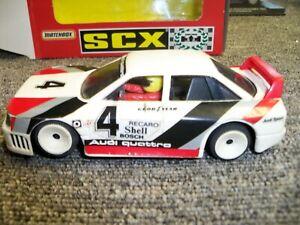 """1/32 slot cars Scx Audi 90 """"IMSA"""" #4"""