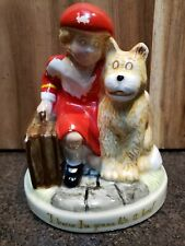 """Annie Figurine """"I Know I'M Gonna Like It Here"""" By Applause 1982"""