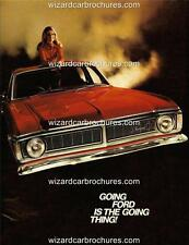 1970 FORD AUSTRALIA  XY GT A3 POSTER AD ADVERT ADVERTISEMENT BROCHURE MINT