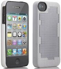 Belkin iPhone 4S/4 Meta 028 Thin Slim Case Cover White Silver & Screen Protector