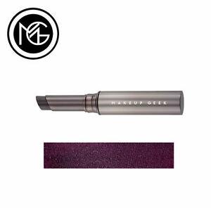 Makeup Geek Iconic Lipstick - SHADY - blackened purple, shine finish - VEGAN