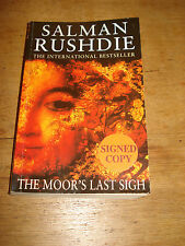 The Moor's Last Sigh - Salman Rushdie - SIGNED -F/E- Paperback.1996