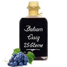 Balsam Essig 25 Sterne 1L fast sirupartig konzentriert und sehr mild