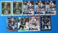 LOT OF 9 RANDY LADOUCEUR SIGNED HOCKEY CARDS ~ 100% GUARANTEE