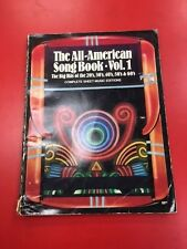 The All-American Song Book, Vol. 1, 2, 3