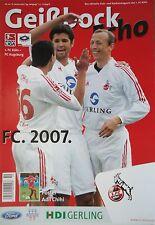 Programm 2006/07 1. FC Köln - FC Augsburg