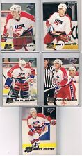 LOT 5 1993 94 Premier U.S.A. Hockey Olympics Player INSERTS Great Team Tuff 1's