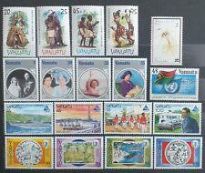Vanuatu 1985 stamps collection - 18 stamps - MNH