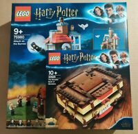 Harry Potter Lego Sealed Set 75980 attack on the burrow & 30628 book of monsters