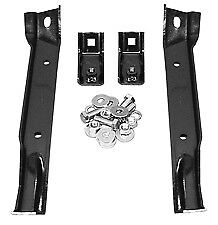 67-70 Chevy/GMC K10 4WD Truck Front Bumper Support Brace Mounting Brackets