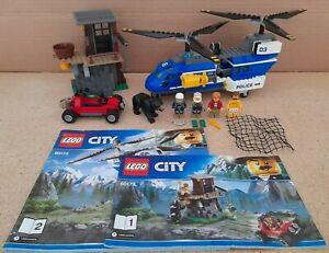 Lego City 60173 Mountain Police Mountain Arrest 100% Complete - New - Black Bear