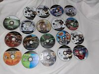 Lot of 19 Sony PS2 XBOX 360 Games Scratched Discs For Repair Gaming As Is