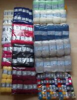 Woolyhippo Yarn Job Lot April Sale  DK  4ply  10x 25g 10x100g  3x10g multipacks