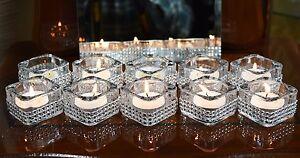10 Pieces Diamante Tea Light Candle Holder  Wedding Christmas Decor