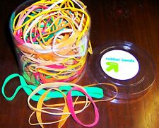 150+ LARGE SIZE JumbO RUBBER BANDS 7 oz multi color aSsOrTmEnT BiG Band Assorted