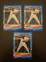 1991 Donruss Tony Gwynn #243 San Diego Padres LOT OF 3 CARDS