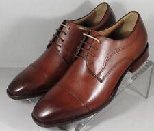205090 SP50 Men's Shoes Size 9 M Brown Leather Lace Up Johnston & Murphy