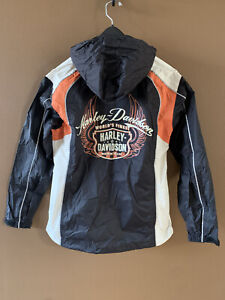 Women's Harley Davidson Moxie 2 Piece Rainsuit Size Small