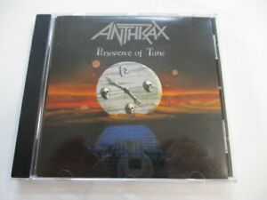 ANTHRAX - PERSISTENCE OF TIME - CD LIKE NEW CONDITION