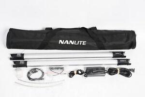 Nanlite PavoTube 15C 2' RGBW LED Tube with Internal Battery 2 Light Kit #142