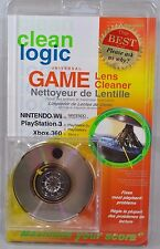 NEW Clean Logic Game Console Lens Cleaner Hyperbrush Xbox Nintendo Playstation