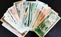 Lot 5pcs Bundle All Different Countries African Currency World Banknotes Unc set