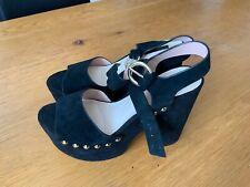Top Shop women's platform sandal  stile black UK 7 Eu 40