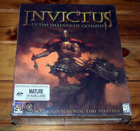 Invictus In the Shadow of Olympus PC Game 1999 Brand New Sealed Big Box