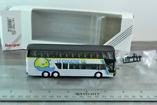 Herpa 141789 Switzerland SETRA Double Decker Coach Bus Le Coultre 1:87 Scale