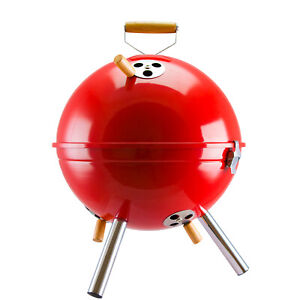 Kettle BBQ Charcoal Grill Portable Barbecue Quality Weber Style & Stainless Vent