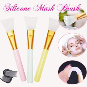 Weiche Silikon Kosmetik Masken Pinsel