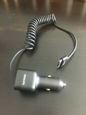 Philips Apple 30 Pin Car Adapter Charger for iPhone, iPod, iPad