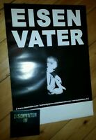 EISENVATER - IV | rare package: CD new sealed + POSTER | unundeux 2009
